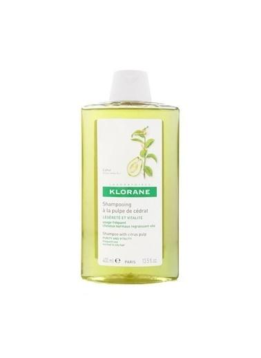 Klorane KLORANE Shampooing puple cedrat 400 ml - Turunçgiller ekstreli şampuan (mat saçlar için ışıltı veren) Renksiz
